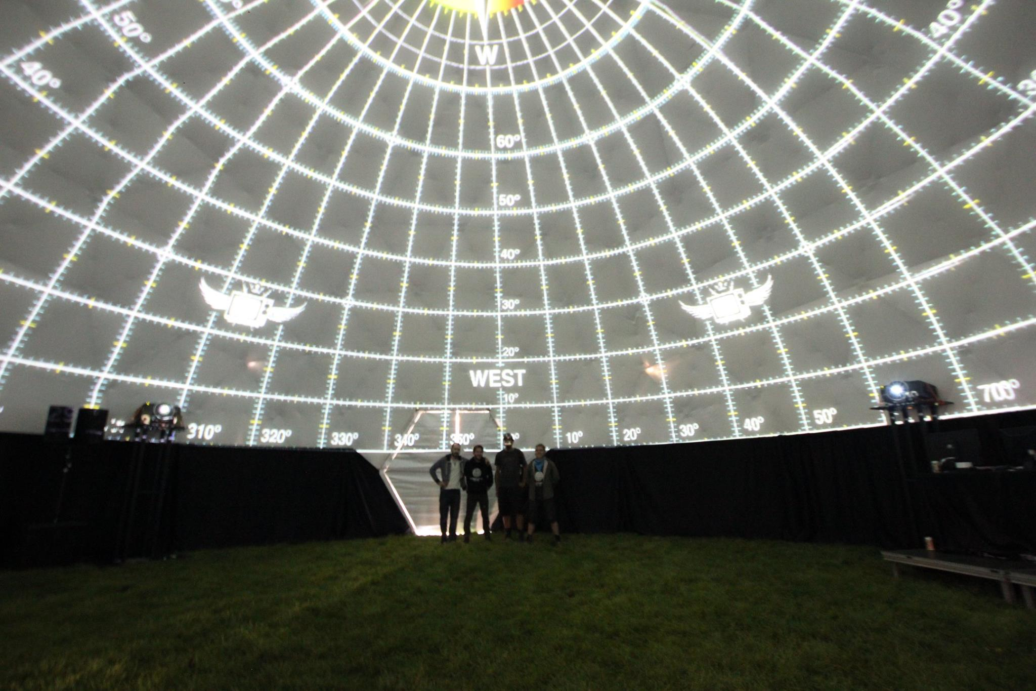 Dome mapping